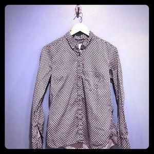 Women's Gap tailored shirt button down